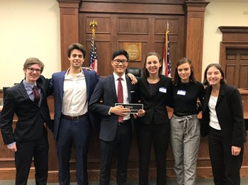 Indian Hill Mock Trial Team wins Clermont County District Championship