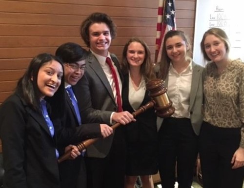 IHHS Mock Trial at UC