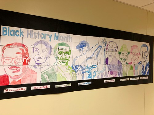 IHMS African American History Month Display