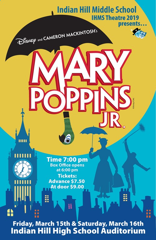 Mary Poppins Jr Poster