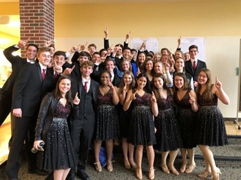 Indian Hill High School's advanced choir earns high marks!