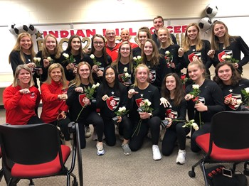Indian Hill High School State Champion Soccer Team celebrated with ring ceremony