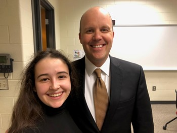 Indian Hill High School junior earns first place finish in Ohio Junior Classical League State Convention