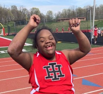 Unified: Braves compete in track and field with a newly formed team
