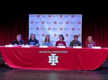 Indian Hill High School celebrates student-athletes with signing ceremony