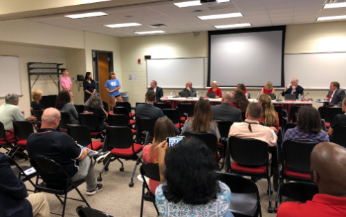 August 2019 Board of Education Student Recognition