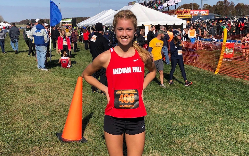 Indian Hill High School student-athlete places at state!