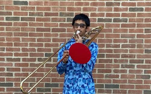 IHHS student Eshaan Gandhi