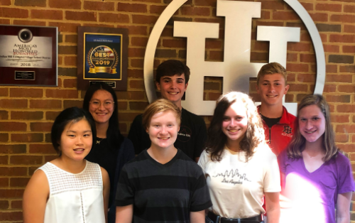 IHHS All-State Students 201920