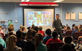 Author Brian Wells at IHMS