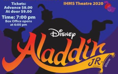 Indian Hill Middle School presents Disney's 'Aladdin Jr.'