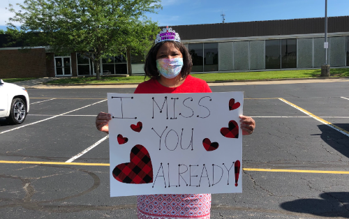 IHPS Farewell Parade Teacher Rosa Jason