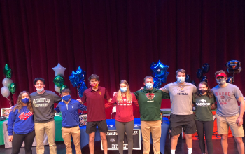 March 3 2021 Athletic Signing