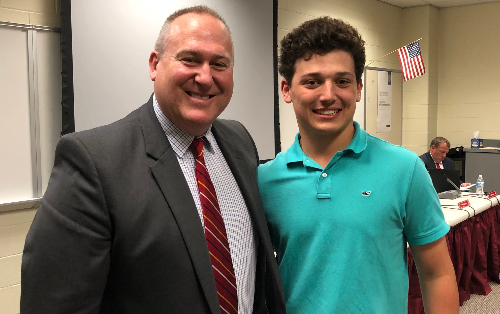 Indian Hill High School student honored for leadership in economics