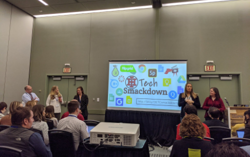 Indian Hill faculty members present technology best practices at state conference