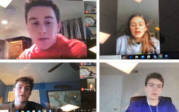 Virtual Meeting with Student Advisory Group