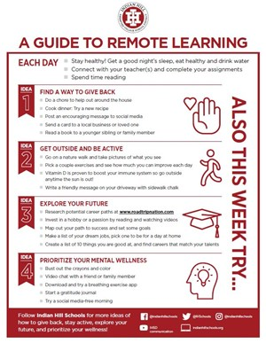 Indian Hill Guide to Remote Learning