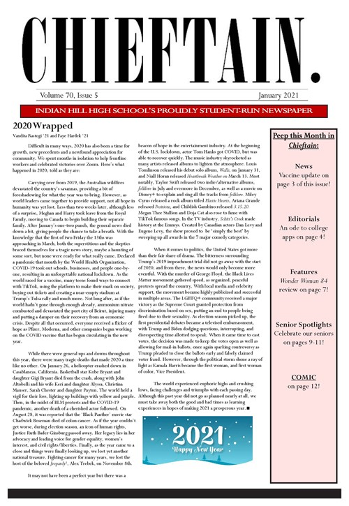 IHHS Chieftain Cover