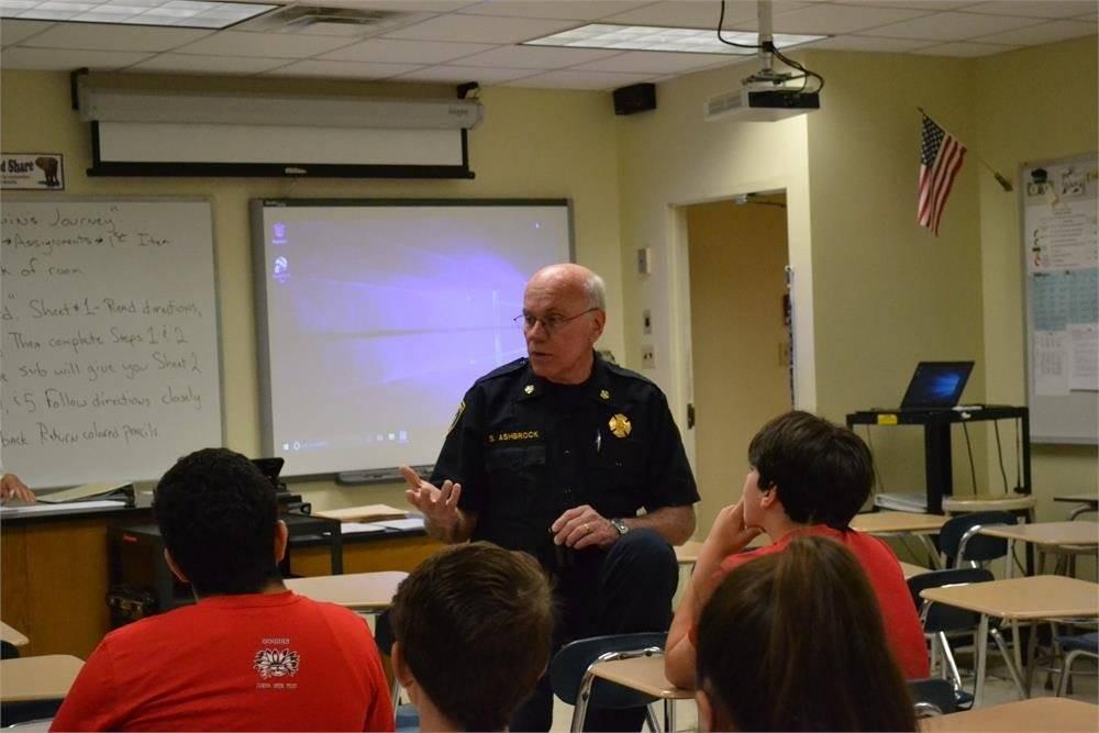 Fire Chief Steve Ashbrock