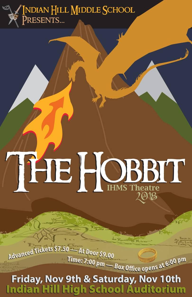 The Hobbit play flyer