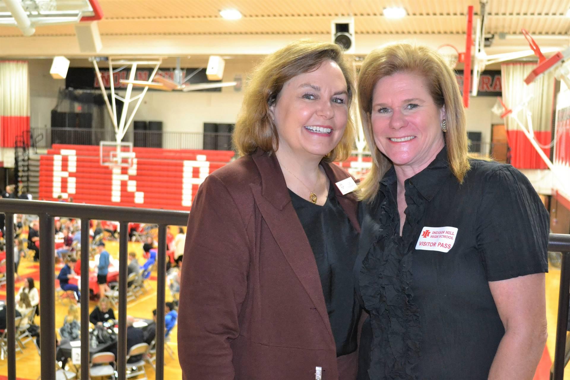 Lori Klinedinst and Janet McMillan, IHF