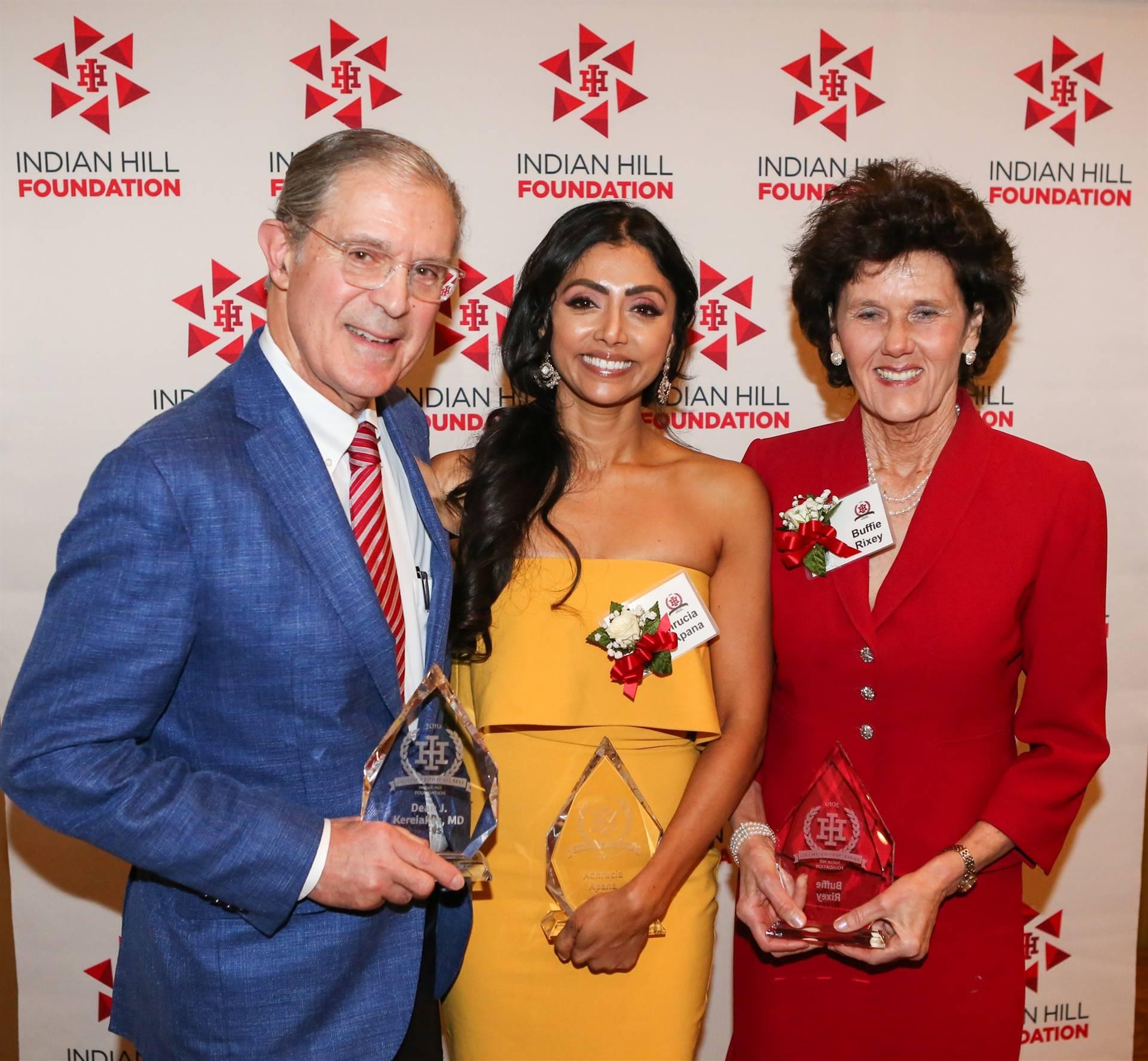 3 Award Honorees