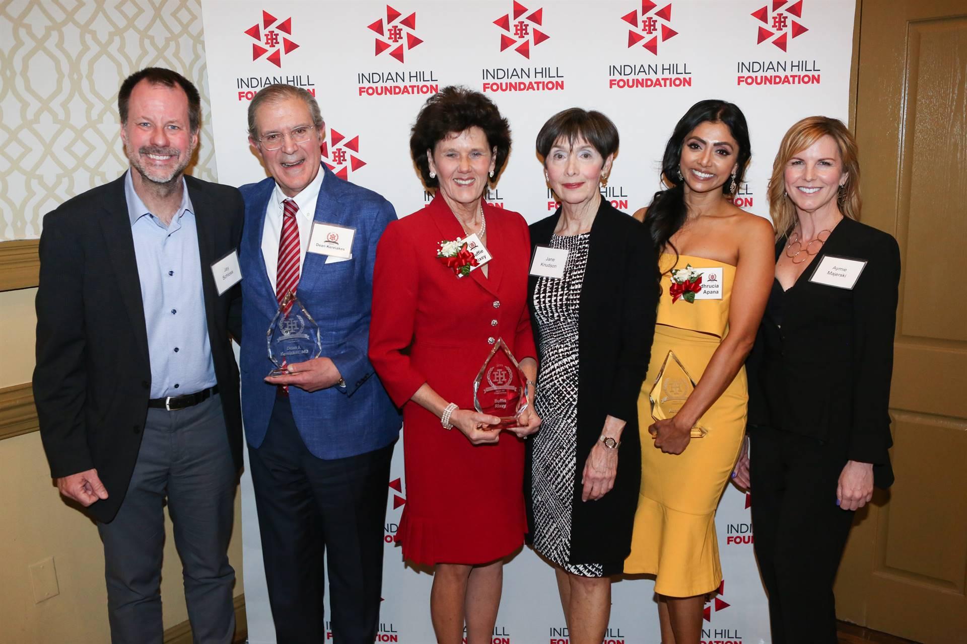 Alumni Award honorees and presenters