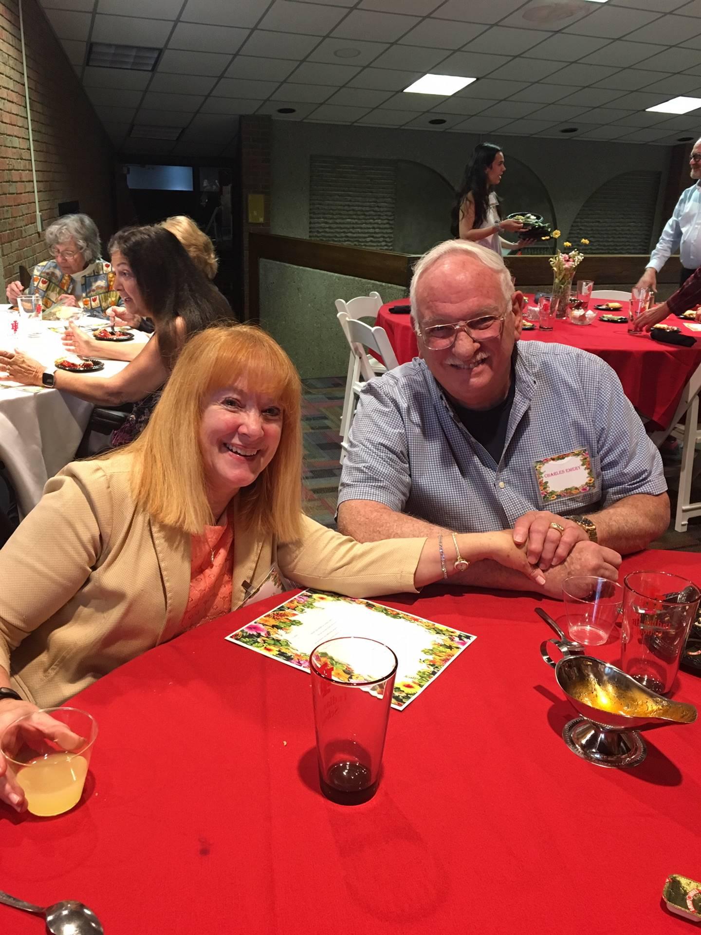 Gail Nichols and Charles Emery
