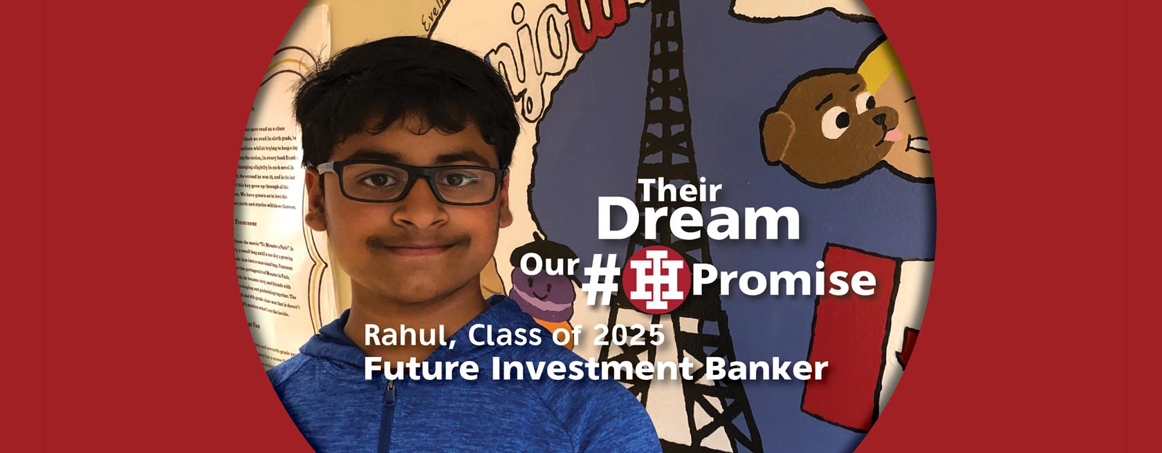 IHMS Student Rahul