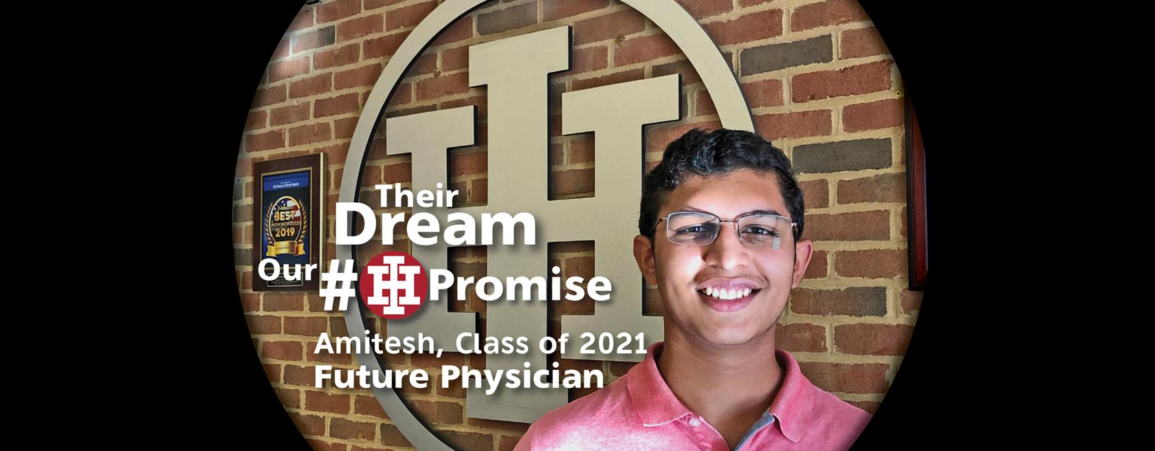 IHHS Student Amitesh