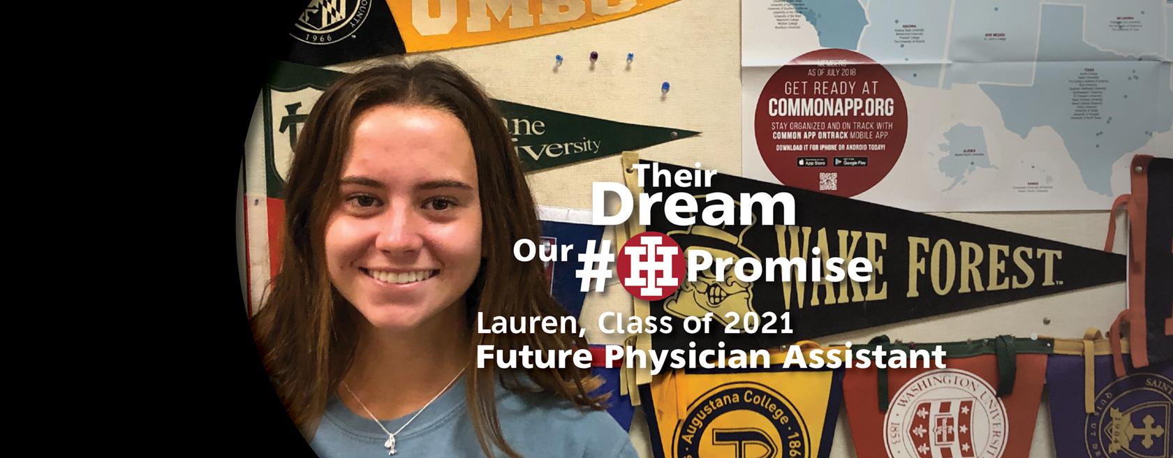 IHHS Student Lauren