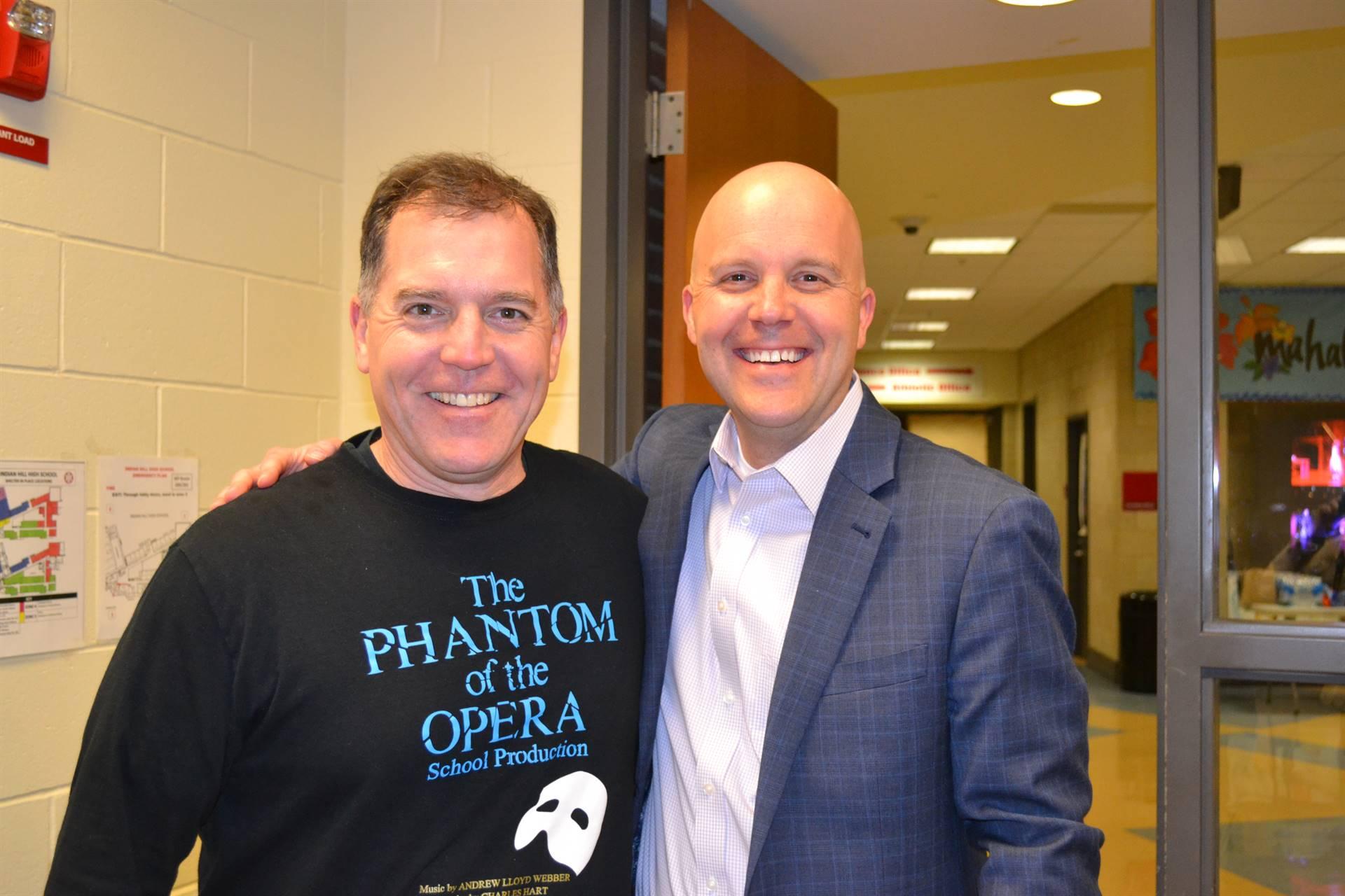 Rob Warfel and Mark Miles
