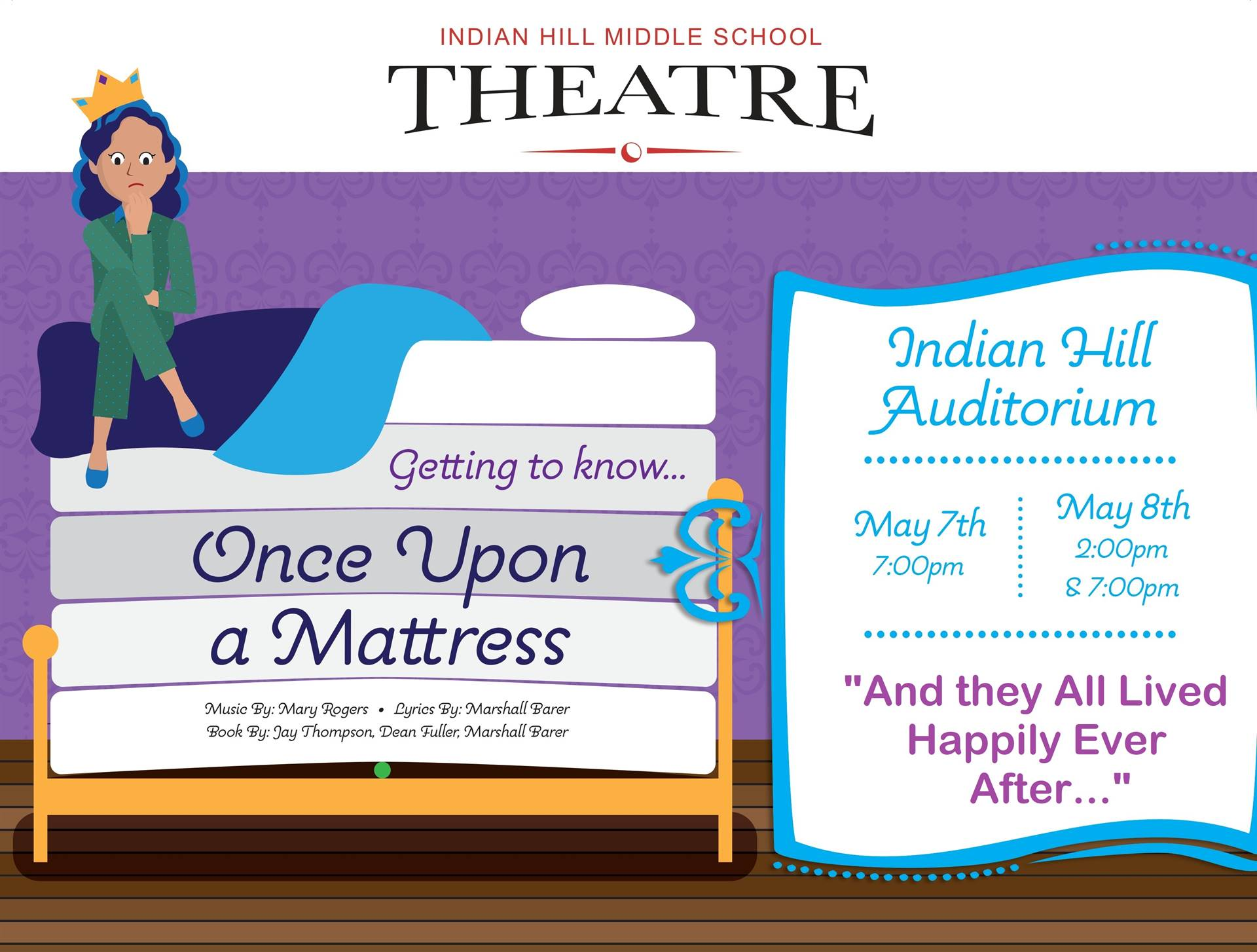 Once Upon a Mattress Poster